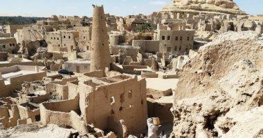 الآثار تنهى 90% من ترميم وإحياء مدينة شالى الأثرية بسيوة