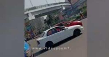 فيديو.. سيولة مرورية وانتظام حركة المرور بميدان العباسية وحتى طريق صلاح سالم