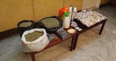 تاجر مخدرات يكشف أسرار تصنيع مخدر الأستروكس داخل منزله فى إمبابة