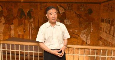 صور.. نائب الرئيس الصينى يزور المعابد ومقابر ملوك الفراعنة فى الأقصر