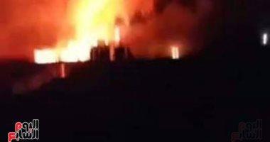 محافظ البحيرة: وفاة شخصين وإصابة 11.. والقبض على المتهم فى حريق خط البترول