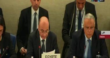 عمر مروان من جنيف: الإصلاح الاقتصادى رفع دخل الفرد لـ54 ألف جنيه فى 2019