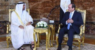 الامارات_ومصر_يد_واحدة يتصدر تويتر بالتزامن مع زيارة الرئيس السيسى -