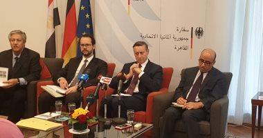 سفير ألمانيا بالقاهرة: نهتم لحل أزمة سد النهضة لتحقيق مصلحة الجميع