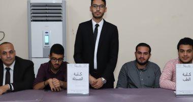 محمود عبد الحليم رئيسا لاتحاد طلاب جامعة عين شمس وأحمد الشبراوى نائبا