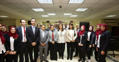 وزيرة التضامن الاجتماعى تطلق موقعا إلكترونيا لبنك ناصر