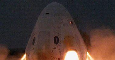 نجاح اختبار نظام الإحباط فى مركبة SpaceX لنقل الرواد قبل الإطلاق الرئيسى