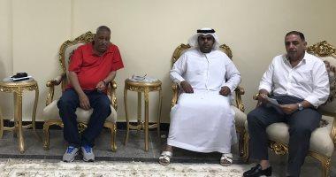 ممثلو اتحاد الهجن الإماراتى يشيدون بسباق شرم الشيخ