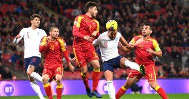 إنجلترا تتفوق بثلاثية على الجبل الاسود فى أول 24 دقيقة.. فيديو