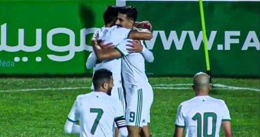 الجزائر تكتسح زامبيا بخماسية فى تصفيات أمم أفريقيا 2021.. فيديو