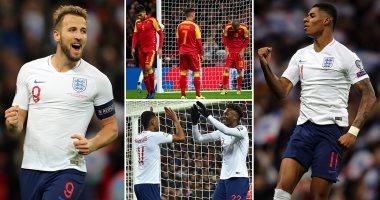 ملخص مباراة انجلترا ضد الجبل الأسود فى تصفيات يورو 2020