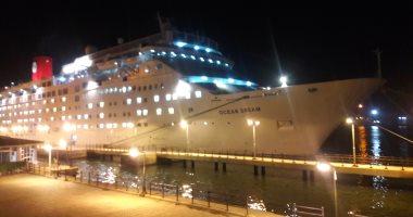ميناء بورسعيد يستقبل السفينة البنمية ocean Dream على متنها 1139 سائحا