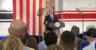 نائب الرئيس الأمريكى يؤكد على أهمية الهبوط على القمر فى 2024