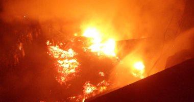 إجلاء 1069 شخصا بسبب حريق ضخم جنوبى الصين
