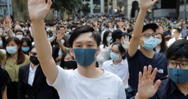 الصين قلقة إزاء المراجعة القضائية للائحة حظر الأقنعة فى هونج كونج