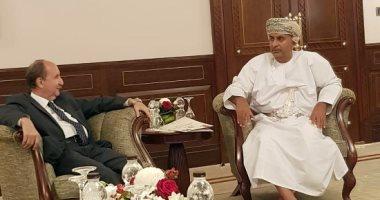 وزير التجارة يبحث مع نظيره العمانى تعزيز التعاون الصناعى والاستثمارى