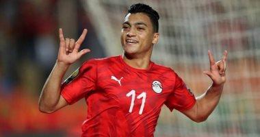 مصطفى محمد مهاجم المنتخب الاولمبي والزمالك