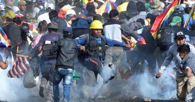 شرطة بوليفيا تشتبك مع أنصار الرئيس المستقيل موراليس وزيادة فى عدد القتلى