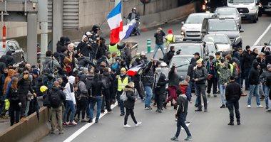 """احتجاجات """"السترات الصفراء"""" تعود إلى الواجهة فى مختلف المدن الفرنسية"""
