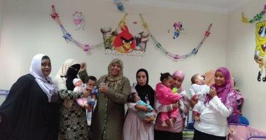 صور .. صحة أسوان يحتفل بعيد الطفولة فى مركز رعاية الأطفال