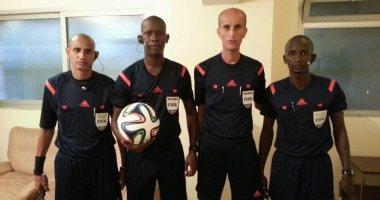 المالى بوبو تراورى يدير مباراة المصرى البورسعيدى ونواذيبو الموريتانى بالكونفيدرالية