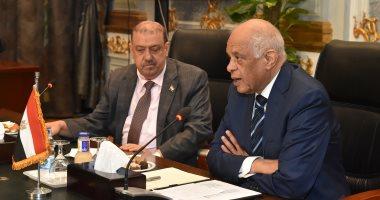 صور.. رئيس البرلمان اليمنى: عبد العال أنصف اليمن فى اجتماع البرلمان الدولى