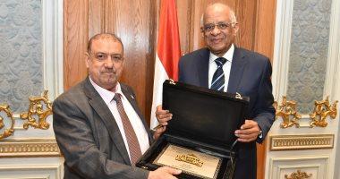 صور.. رئيس البرلمان اليمنى: الشكر للرئيس السيسى المثابر الجسور على التسهيلات المقدمة لليمنيين