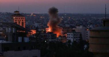 قوات جوية وبرية إسرائيلية تشن غارات على غزة.. وحصيلة شهداء فلسطين ترتفع لـ109