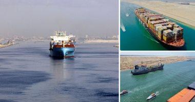 عبور 48 سفينة قناة السويس وتداول 24 سفينة بموانئ بورسعيد -