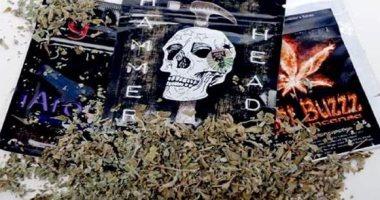 سقوط عاطل لإتجاره بمخدر الشادو فى حدائق أكتوبر