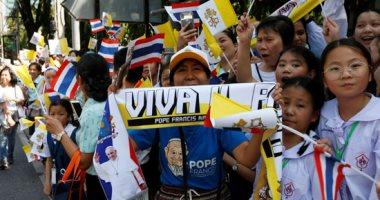 بابا الفاتيكان يصل بانكوك فى مستهل جولة خارجية تشمل تايلاند واليابان