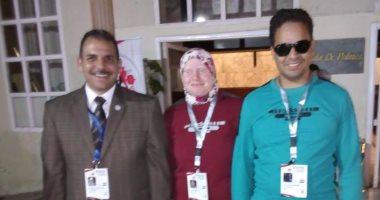 طالبة بكفر الشيخ تفوز بالمركز الأول فى رفع الأثقال ببطولة العالم للمكفوفين