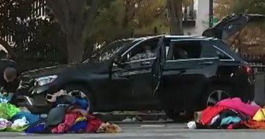 اقتحام سيارة مبنى البيت الأبيض والشرطة تعتقل المنفذ