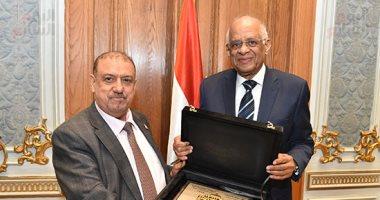 """رئيس برلمان اليمن لـ""""اليوم السابع"""": """"النواب المصرى"""" خير سند لنا"""