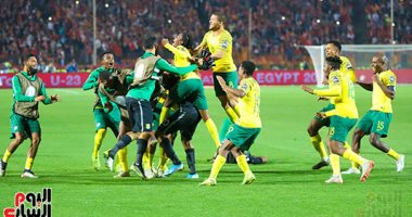 صور.. جنوب افريقيا تسجل الظهور الثالث في الاولمبياد بعد عبور غانا
