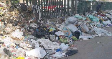 قارئ يشكو انتشار القمامة بالشارع الجديد فى شبرا الخيمة