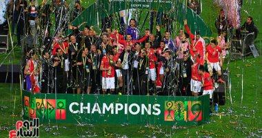 أبطال مصر يرفعون كأس أمم أفريقيا تحت 23 سنة ويحصدون جوائز البطولة