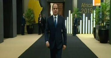 الرئيس السيسي بمنتدى أفريقيا: مصر تتقدم بقوة فى مجال الصناعة والزراعة