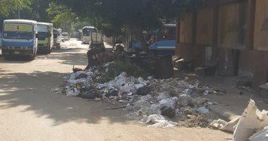 شكوى من انتشار القمامة بشارع الملك الصالح بحى مصر القديمة