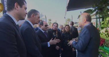 تفاصيل جولة السيسي في معرض تحيا مصر.. فيديو