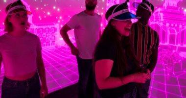 غرفة ذكية جدرانها عبارة عن شاشات باللمس مخصصة للألعاب