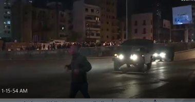 العربية: الجيش اللبنانى يحاول منع عناصر حزب الله من الاعتداء على المحتجين