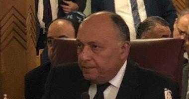 السعودية نيوز |                                              الخارجية: شكرى وقع بيان العلا وأكد تقدير مصر لكل جهد يبذل لتحقيق المصالحة