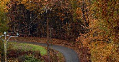 روعة المناظر الطبيعية لأشجار الخريف فى فرنسا
