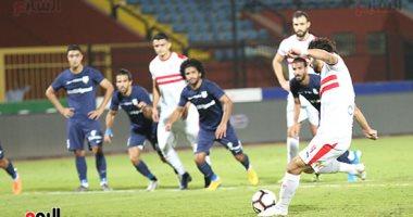 شاهد اهداف مباراة الزمالك وانبى فى الدورى المصرى اليوم السابع