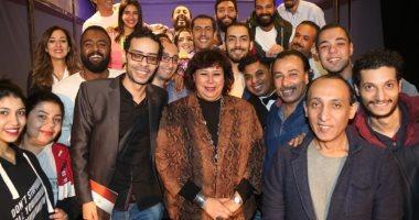 وزيرة الثقافة تشهد انطلاق عروض البيت الفني للمسرح