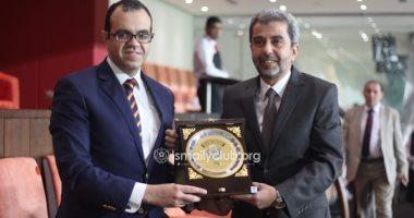 قنصل مصر بالإمارات يهنئ الإسماعيلي بالفوز على الجزيرة