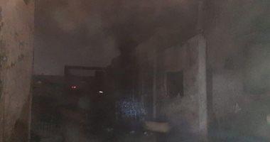 تحقيقات الأمن بحريق مصنع بلاستيك القناطر الخيرية: ماس كهربائى وراء الحريق
