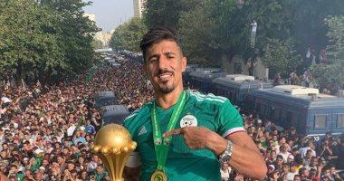 بونجاح ينضم لقائمة أفضل 10 هدافين فى تاريخ الجزائر.. اعرف القائمة