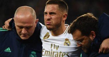 ريال مدريد يكشف حقيقة إصابة هازارد قبل الكلاسيكو